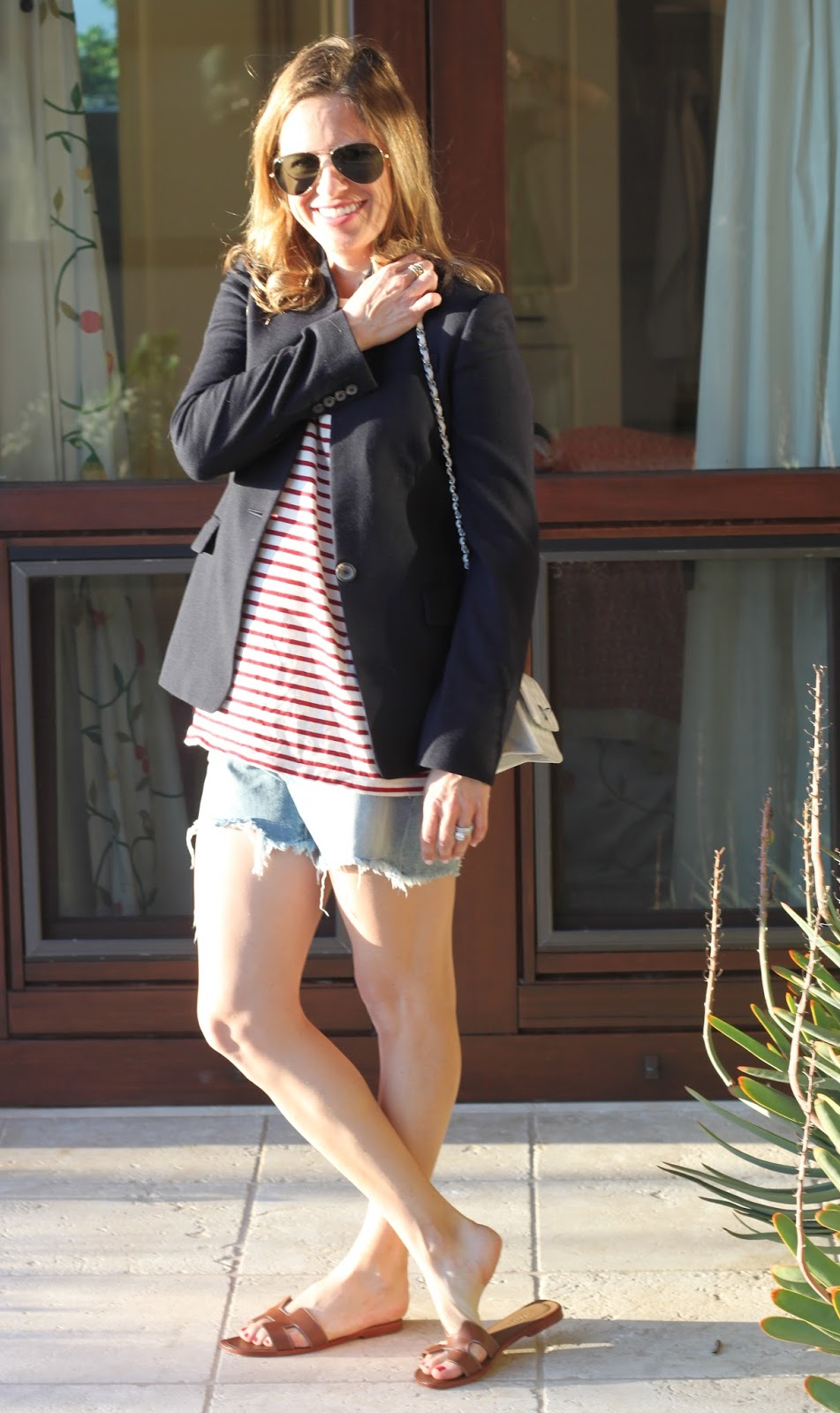 stripes, blazer and chanel