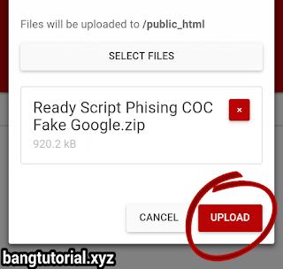 Upload File Zip Script Phising 000webhost
