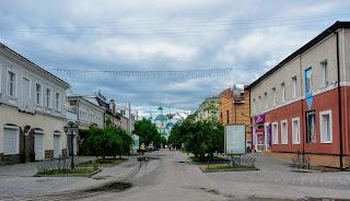 Суми. Пішохідна вулиця Воскресенська