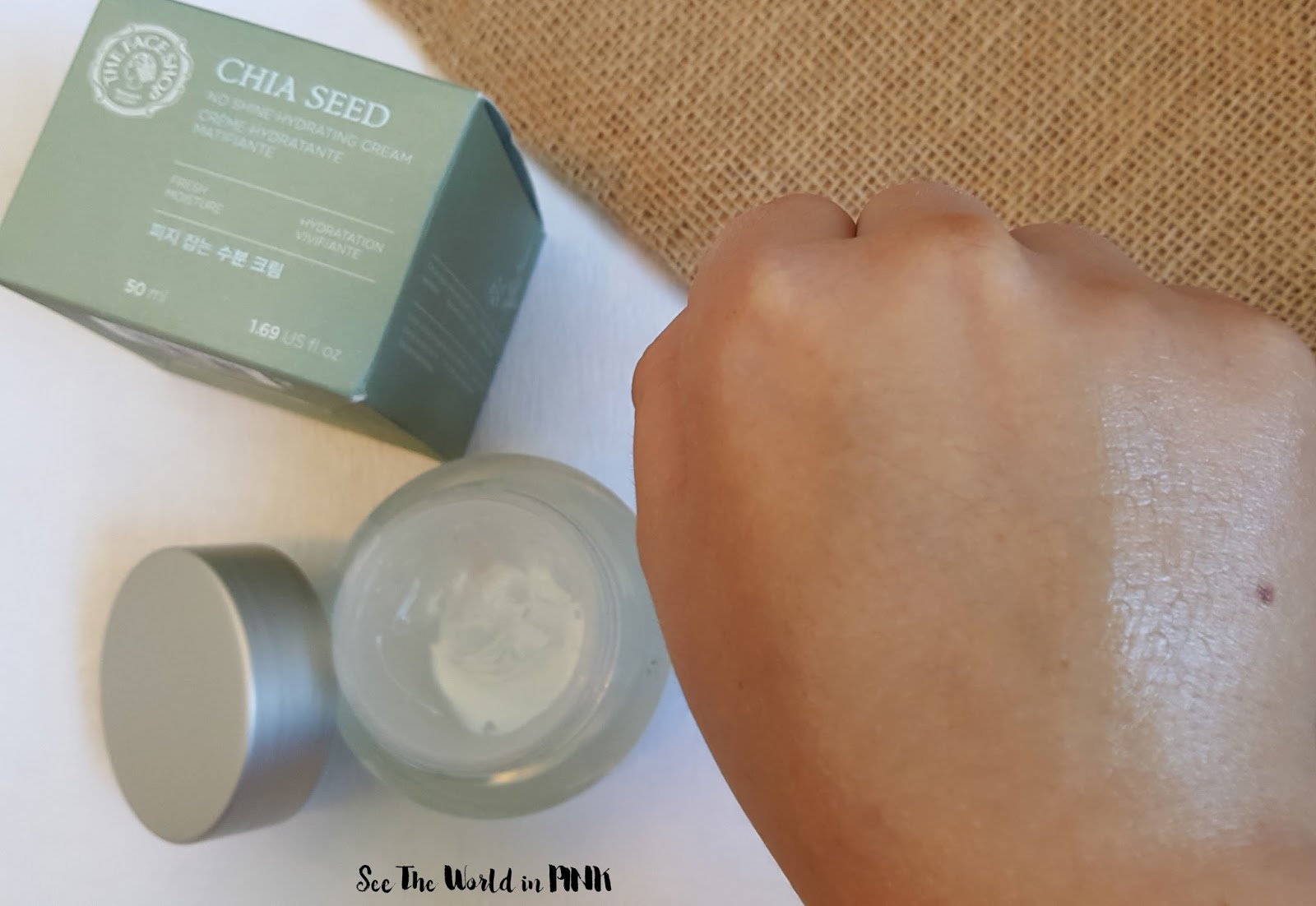 Skincare Sunday - The Face Shop Chia Seed Line