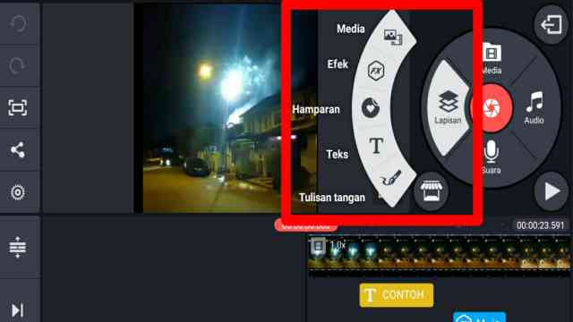 cara edit video di kinemaster