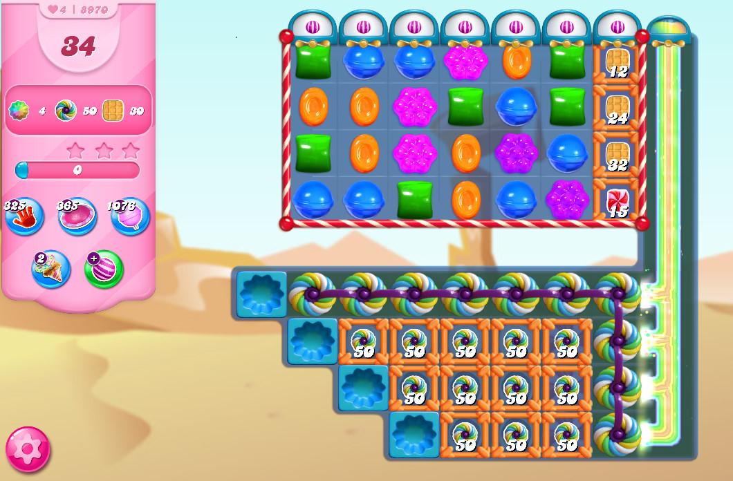 Candy Crush Saga level 8970