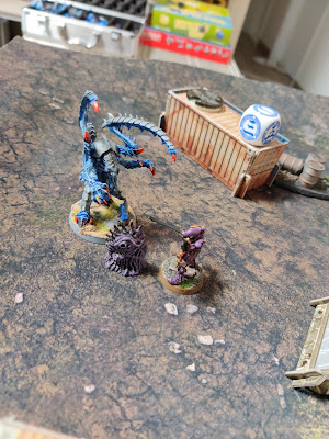 006 - Lictor appears in front of a scorpion