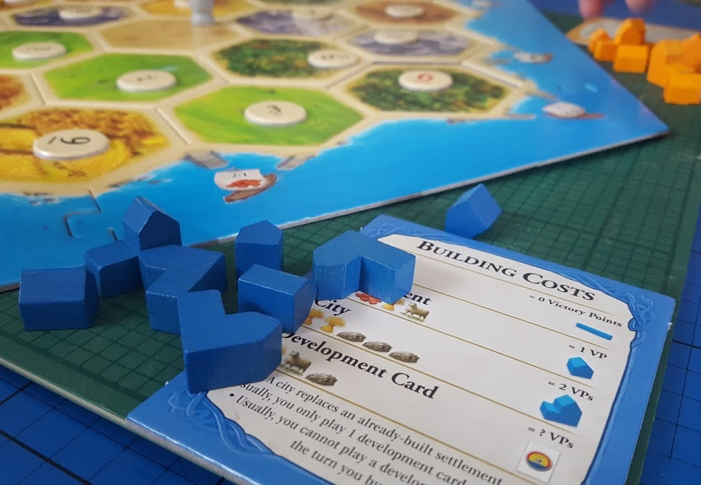 Case Blue Board Game : The brick castle: catan game review age 10 for blogger board game
