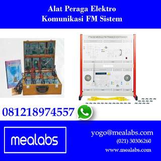 Alat Peraga Elektro FM Sistem