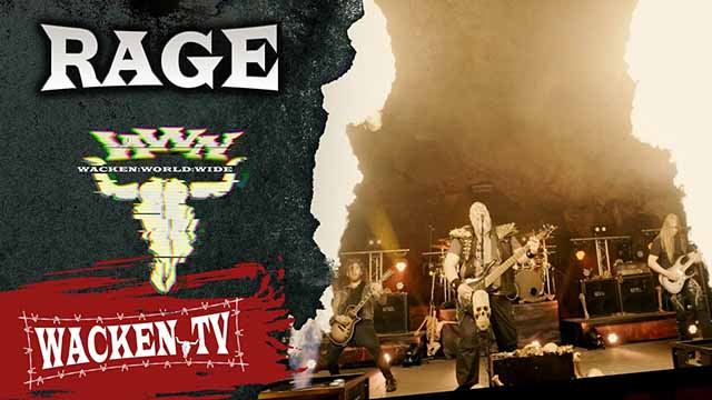 Rage - 3 Songs (Live at Wacken World Wide 2020)