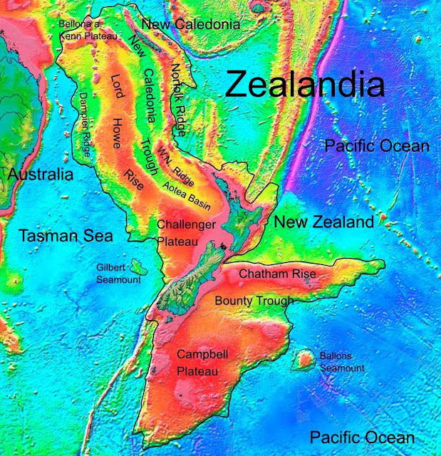Zealandia: Interesting Facts About the 'Lost Continent'