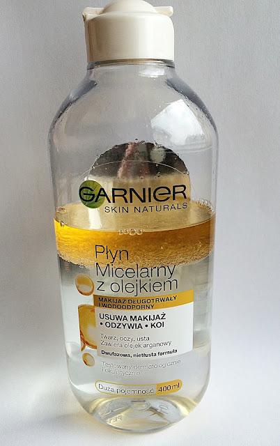 Garnier, Skin Naturals, płyn micelarny z olejkiem arganowym