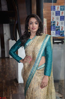 Tejaswi Madivada looks super cute in Saree at V care fund raising event COLORS ~  Exclusive 022.JPG