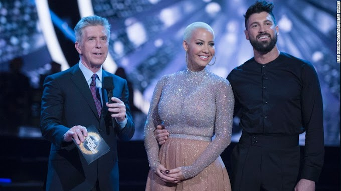 (Video) Amber Rose says she was body shamed on 'DWTS