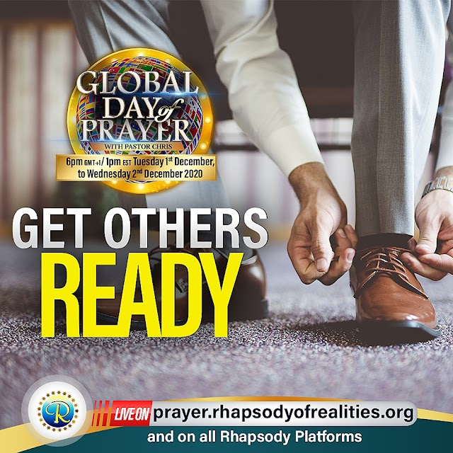 Global day of prayer with pastor Chris || Aruwaab9ja