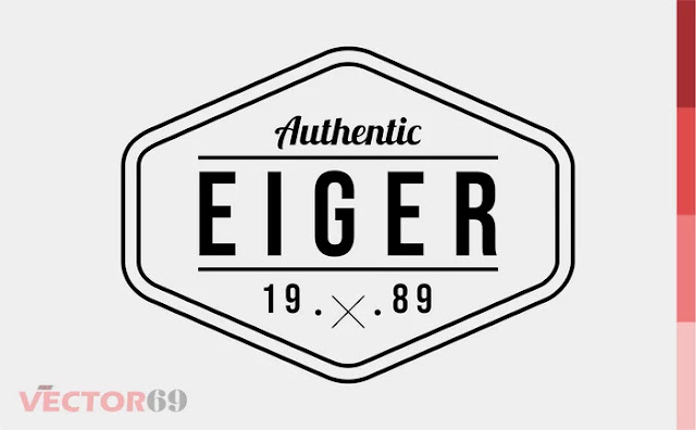 Eiger 1989 Logo - Download Vector File PDF (Portable Document Format)