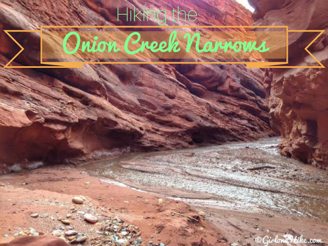 Hiking the Onion Creek Narrows, Moab