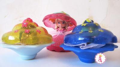 Попкейк пирожное и принцесса игрушка 2 в 1 Ароматные капкейки