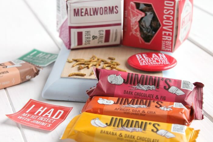 Jimini's Edible Insects and Protein Bars