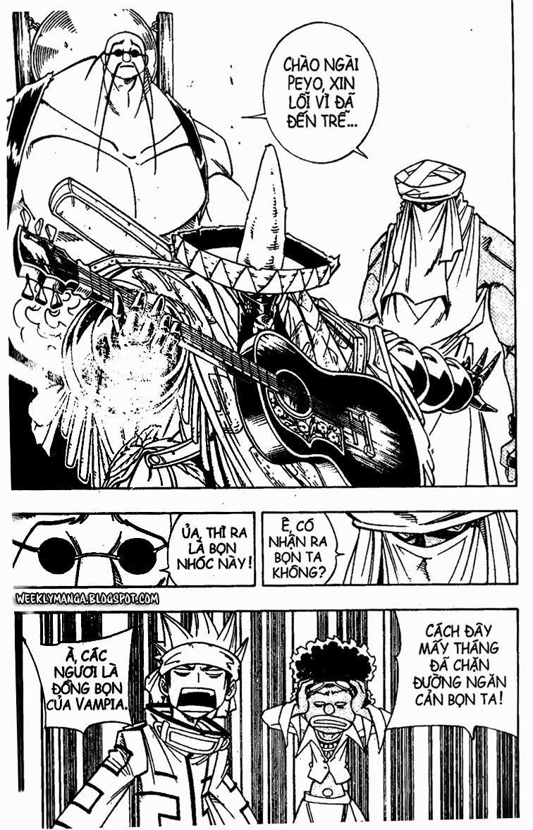 Shaman King [Vua pháp thuật] chap 149 trang 9