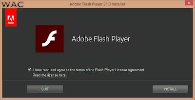 windows flash update
