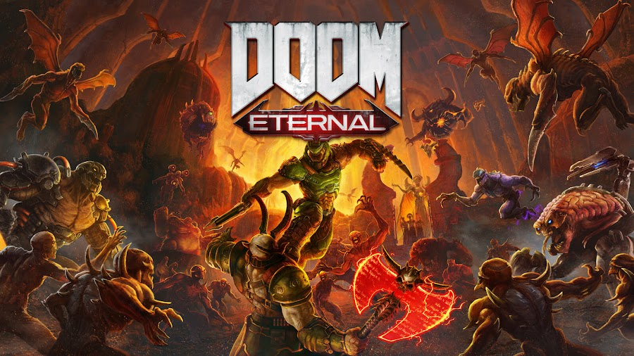 doom eternal pc ps4 xb1 doomguy id software bethesda softworks
