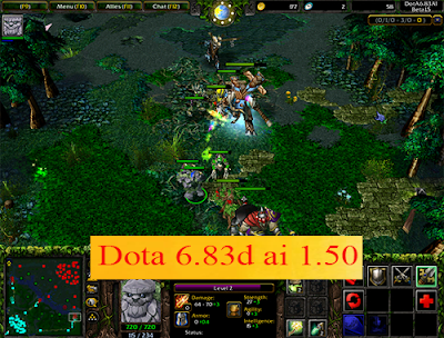 Download Dota 6.83d ai 1.50