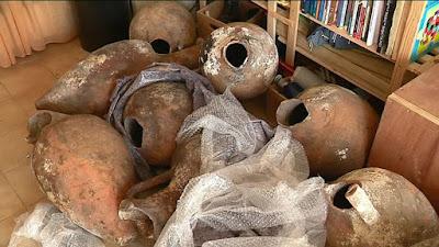 17 αμφορείς του 3ου αιώνα π.Χ. ανακαλύφθηκαν στις Κάννες