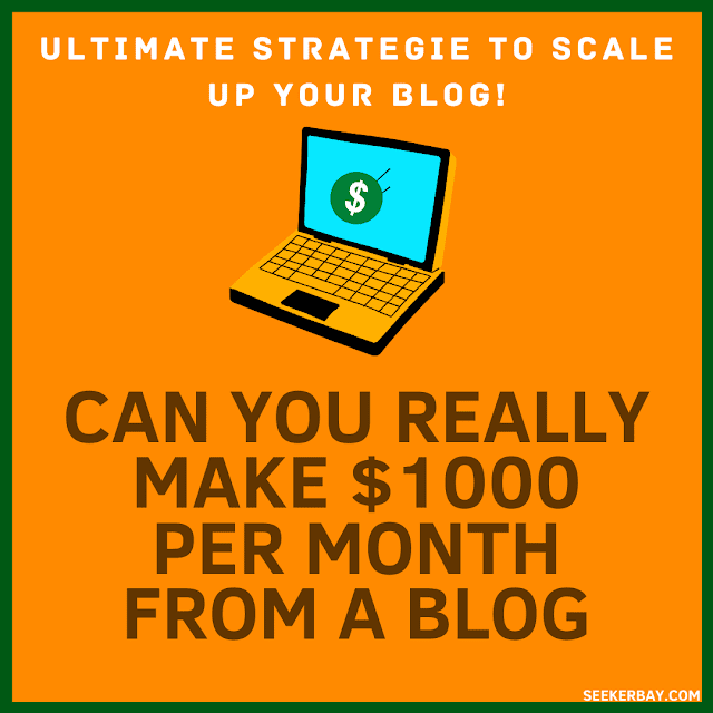 Can You Really Make $1000 a Month From Your Blog?
