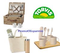 Logo Concorso Latte Torvis ''In armonia con la sostenibilità'': vinci 70 kit colazione, picnic e mare