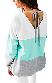 Angashion Womens Sweatshirt