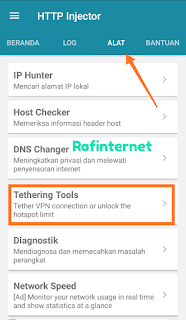 Cara Tethering Vpn Android ke Luar / Android Lainnya Tanpa Root