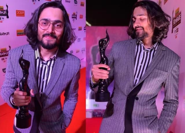 Bhuvan Bam win filmfare award in 2019