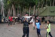 Kehadiran Satgas TMMD Ke-111 Mengundang Kecerian Anak di Kampung Tola