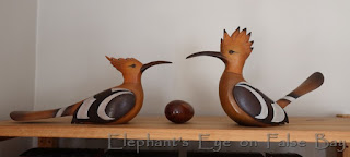 Wooden hoopoes