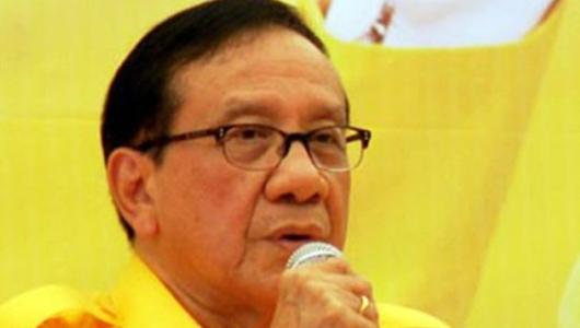 Akbar Tanjung Tegaskan Jatah Menteri Hak Prerogatif Presiden
