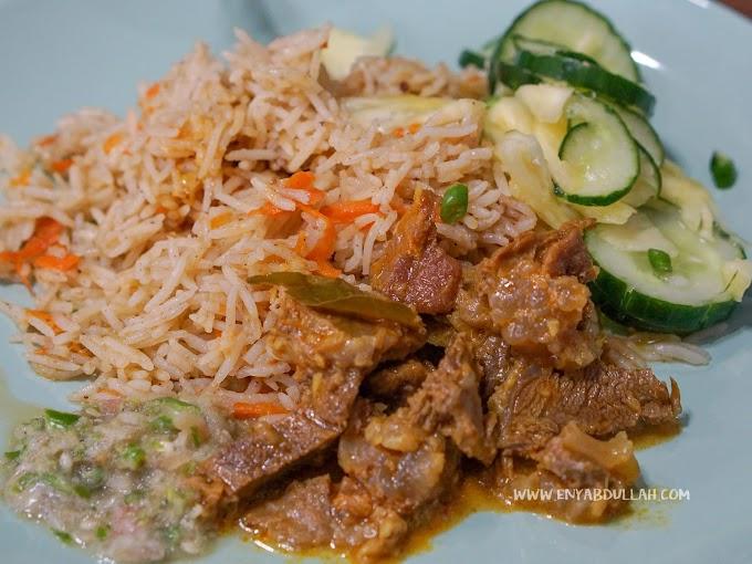 Nasi Carrot Mudah Untuk Hidangan Raya