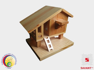 Decorative Wooden Bahay Kubo Handicraft