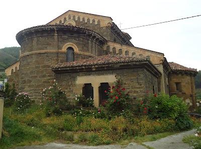 Cabecera actual IGLESIA DE SANTA EULALIA Camino del Salvador