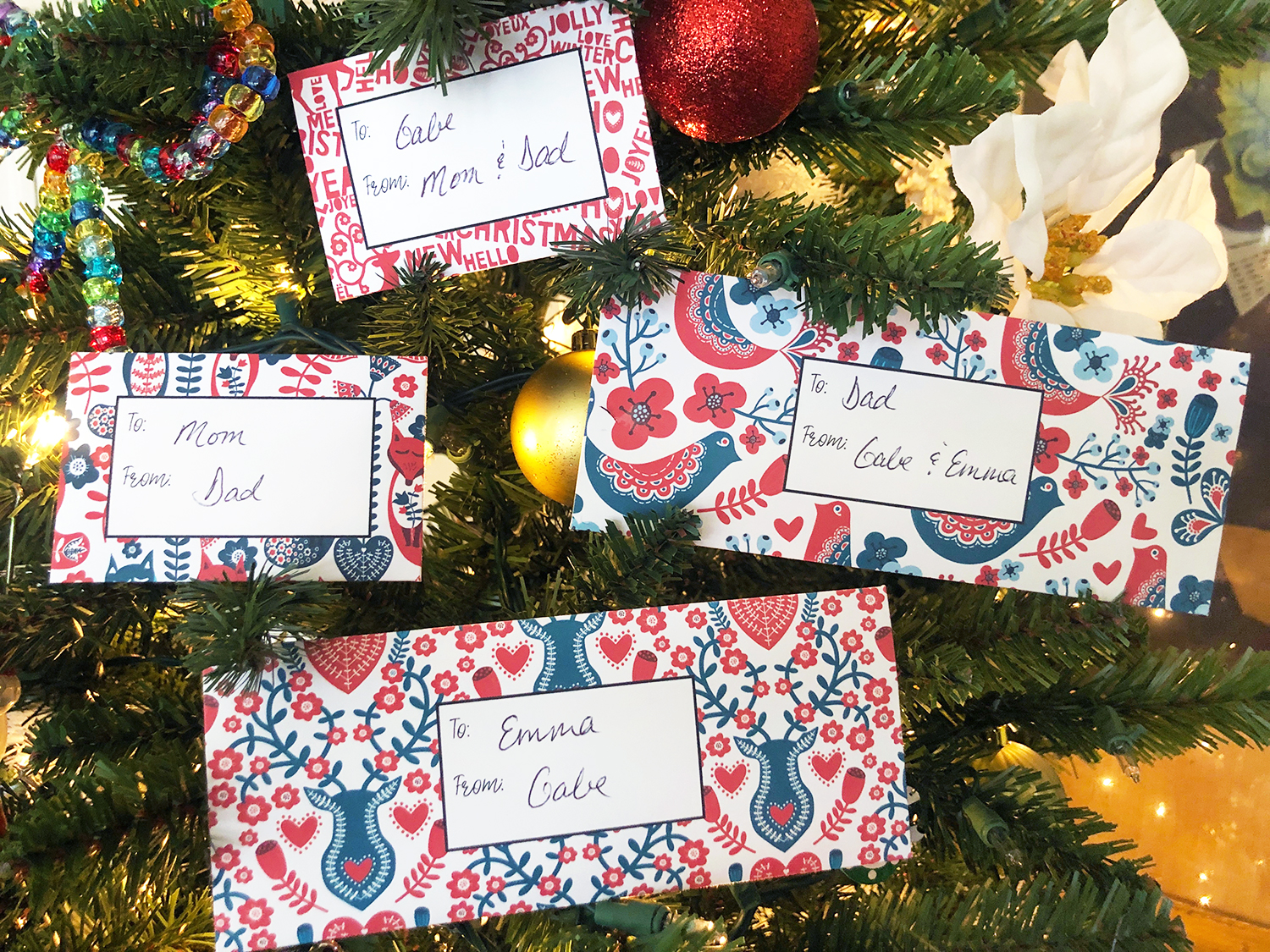 Southern Mom Loves Holiday Gift Card Cash Envelopes Free Printables