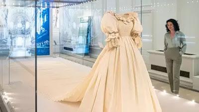 Bruidsjurk Diana, Kensington Palace,