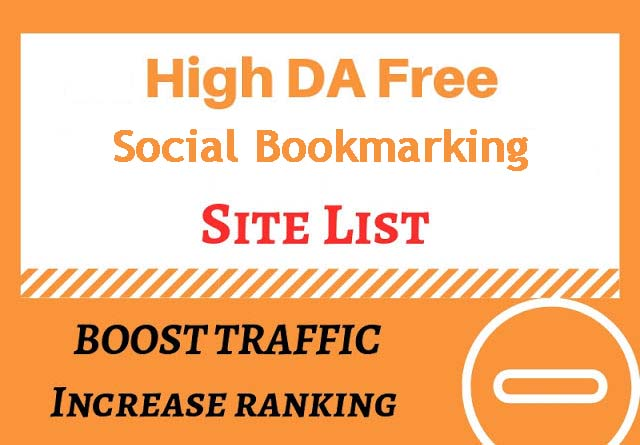 High PR Social Bookmarking Sites List In 2019