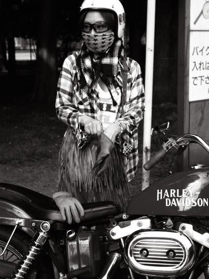 Harley Girl - Japan