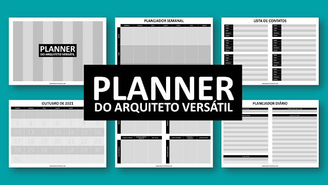 Agora o Arquiteto Versátil tem um Planner Próprio