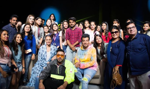 Sex Education with 'Khandaani Shafakhana' at J D Institute of Fashion Technology