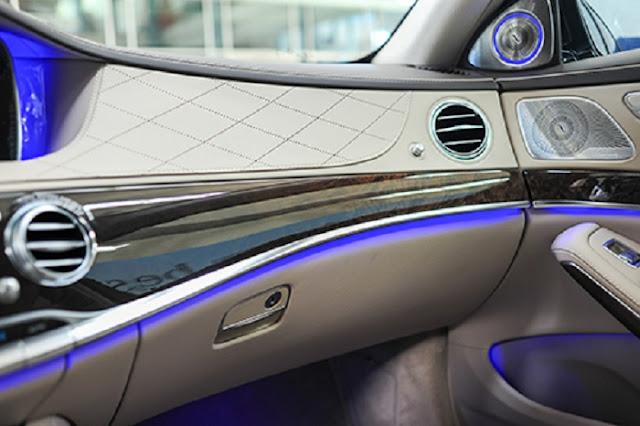 Nội thất Mercedes S500 L 4MATIC là sự kết hợp hoàn hảo giữa Da và Gỗ