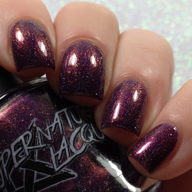 Supernatural Lacquer-The Yule Witch