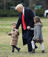 Trump with grandchildren