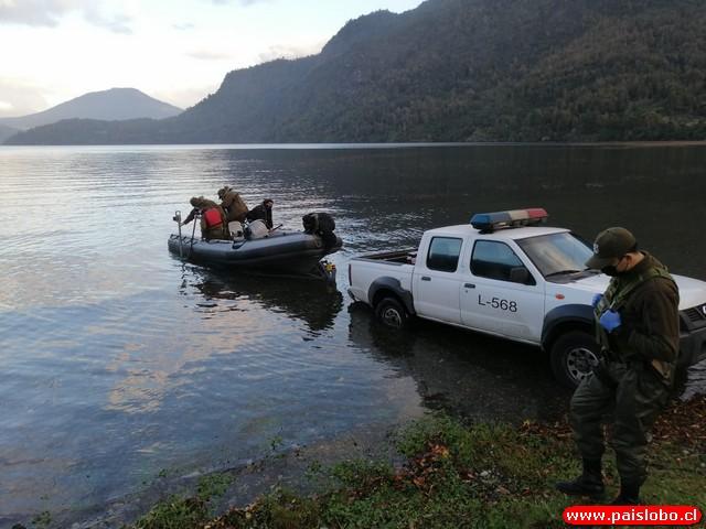 Encuentran sin vida a hombre en la orilla del Lago Maihue