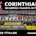 Corinthians vence  e é campeão na casa do Palmeiras