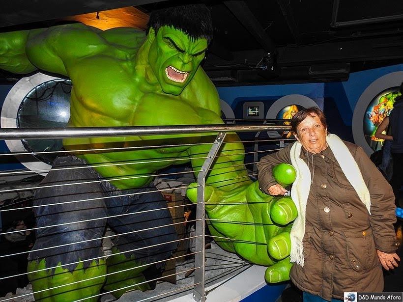 Hulk - Madame Tussauds: Como visitar o museu de cera de Londres