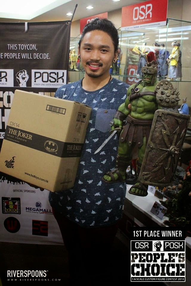 df3a57b57c2db6 Mark from One Sixth Republic shares with us the winners for the OSR x POSK  1 6th Scale Custom Contest