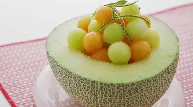 Melon Makanan Pereda Maag dan Sakit Lambung
