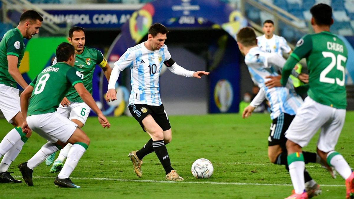 مباراة الأرجنتين أمام بوليفيا تصفيات كاس العالم